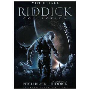 Riddick Collection (DVD, 2013, 2-Disc Set)