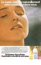 PUBLICITE ADVERTISING  1982   EVIAN   brumisateur