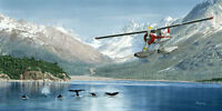 """Beaver Tales"" Don Feight Print - DHC-2 Beaver Float Plane"
