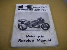1989 Kawasaki Ninja ZX-7 ZXR750 Service Manual