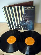 David Bowie Stage 1st Press Laminated UK 2 x LP RCA PL 02913 1978 EX+