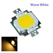10pcs 10W LED SMD Chip Bulb Bead High Power For Flood Light Lamp Cool/Warm White