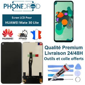 Écran complet LCD + vitre tactile Huawei Mate 30 Lite Black + Outils, stock FR