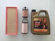 Fuel /& Oil Filter Service Kit a19 VW Touran 1.6 2.0 Tdi Diesel 15-19 Air Cabin