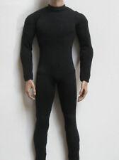 "1/6th Scale Black Color Jumpsuit Corset Clothes For 12"" Male Action Doll"
