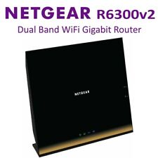 Netgear R6300V2 AC1750 4 Port Wireless Dual Band Gigabit WiFi Router Network LAN