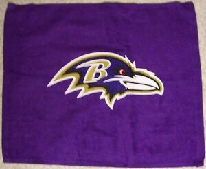 NFL Rally Fan Towel Baltimore Ravens NEW Golf Crying Hand 100% Cotton