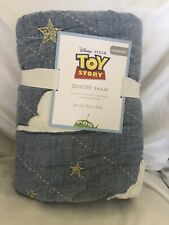 Pottery Barn Kids Disney and Pixar Toy Story Quilted Sham NWT