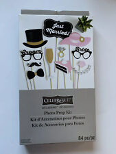 Celebrate It photo Prop Kit Just Married Brand New/Sealed