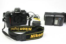 Nikon D100 6.1 MP Digital SLR Camera w/ Pelican case, battery, SB-50DX Flash