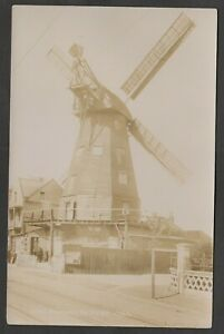 Postcard Ramsgate Kent view of The Old Mill windmill early RP by Frith