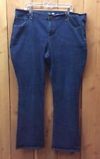 Women's Old Navy Semi Evase Boot Cut Dark Wash Jeans Size 20
