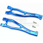 GPM Racing Aluminum Front Upper Arms Blue : Kraton / Outcast / Notorious