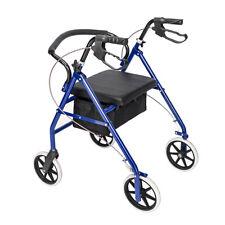 Medical Equipment Senior Older People Walking Aid Wheel Seat Chair Brake Walker