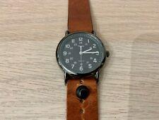 Timex Weekender 38mm Form Function Form Leather bracelet