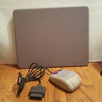 Mouse + Mousepad - Super Nintendo SNES Authentic No Game 1992