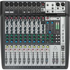 SOUNDCRAFT SIGNATURE 12MTK Multi-Track Professional Lexicon FX USB Record Mixer