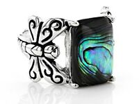 925 Silver Peridot Gemstone Ring Fashion Women Wedding Bridal Jewelry Sz6-10