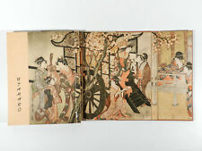 UTAMARO Japan Blockbuch Das Porträt im japanischen Holzschnitt ° Artia Prag 1958