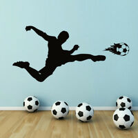 "Eat Sleep Soccer Vinyl Wall Decal Home Decor Kids Room Sports Ball 12/"" x20/"""