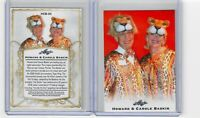 2020 LEAF CAROLE BASKIN and HOWARD LICENSED TRADING CARD Tiger King Joe Exotic