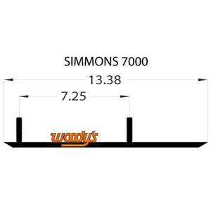 Extender Trail Carbide Runners Simmons Flexi-Ski - Original and Gen II