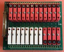 OPTO 22 G4PB24 MOUNTING RACK W/16 G4ODC5 & 8 G4IDC5 PLUG-IN MODULES & RIB CABLE