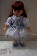 """Engel Kinder Puppen Doll made n Germany 17"""" Redhead with Darling Of New no Box"""