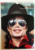 Michael Jackson Wall Calendar 2021 A4 New Sealed