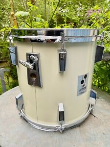 """Sonor Phonic Plus 12"""" Tom weiss, 9ply beechwood shell Top Zustand"""