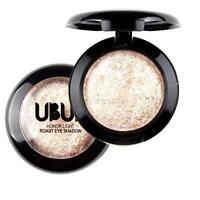 GoldGlitter Eye Shadow Powder Palette Shimmer Metallic Eyeshadow Palette Makeup