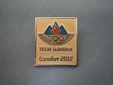 LONDON 2012 OLYMPIC PIN NOC DATE SLOVENIA