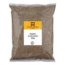 Manor Springs Organic Cumin Seeds 250 g
