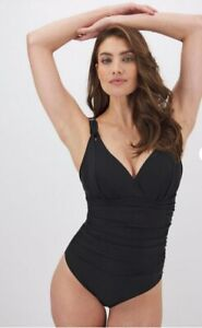 MAGISCULPT Black Lose Up To An Inch Shaping Swimsuit Size 12 NEW £45