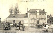 (S-86191) FRANCE - 80 - CRECY EN PONTHIEU CPA