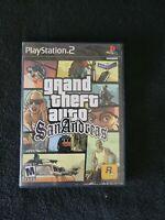 Grand Theft Auto: San Andreas (Sony PlayStation 2, 2004) no disk .
