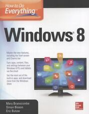 How to Do Everything: Windows 8, Bisson, Simon, Butow, Eric, Branscombe, Mary, G