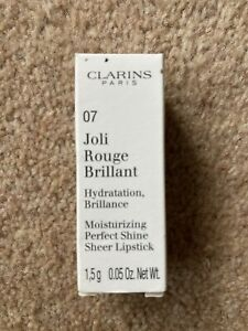 Clarins Joli Rouge Brilliant 07 Raspberry 1.5g