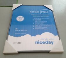 """Picture Frame Photo Poster 15.75"""" x 19.75"""" Silver Lightweight Aluminium"""