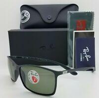NEW Rayban Liteforce sunglasses RB4179 601S9A 62mm Black Grey Polarized GENUINE