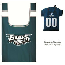 New Jersey Style NFL Philadelphia Eagles Reusable Shopping Tote Grocery Bag