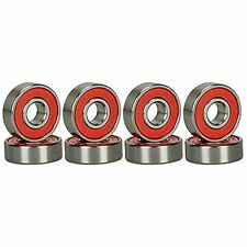 Abec Bearings Skateboard Deck Long Board Silver 1 Set Of 8 Free Shipping
