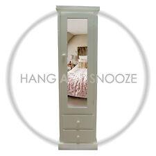 HANDMADE DEWSBURY 2 DRAWER  1 DOOR WARDROBE  (ASSEMBLED)