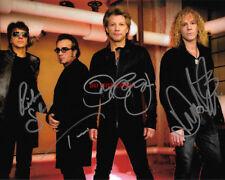 Bon Jovi Band Autographed 8x10 Signed Photo Reprint Jon Bon Jovi