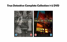 True Detective Complete Collection 1-2 DVD All Seasons 1 2 Original UK R2 NEW