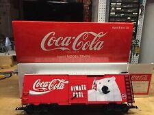 "LGB 42912 ""Always Cool!"" Polar Bear Coca-Cola boxcar, Collection Item - NEW"