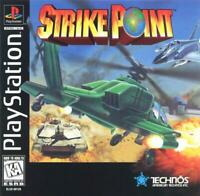 Strike Point Playstation 1 Game PS1 Used