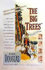 THE BIG TREES Movie POSTER 27x40 Kirk Douglas Eve Miller Patrice Wymore Edgar