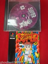 SUPER PUZZLE FIGHTER II TURBO PLAYSTATION 1 STREET FIGHTER PUZZLE PS1 PS2 PS3