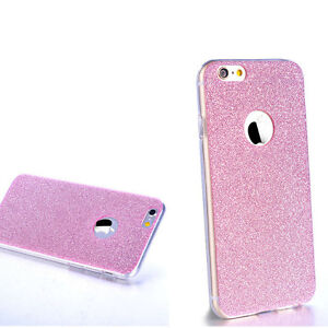 """Luxury Silicone Glitter Shock Proof Phone Case Cover For iPhone 6  6s 4.7""""  Pink"""